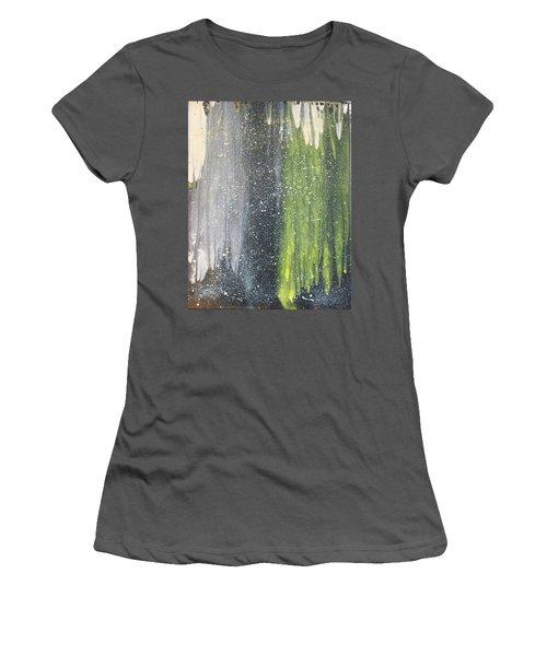 His World Women's T-Shirt (Junior Cut) by Cyrionna The Cyerial Artist