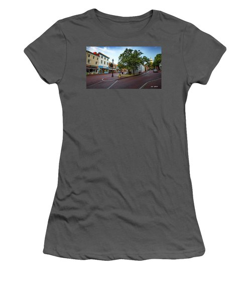Historic Streets Women's T-Shirt (Athletic Fit)