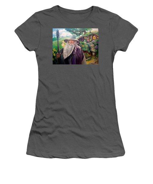 Hobbit Women's T-Shirt (Junior Cut) by Paul Weerasekera