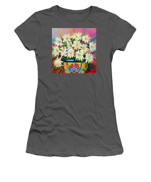 Hola Daisies Women's T-Shirt (Junior Cut)
