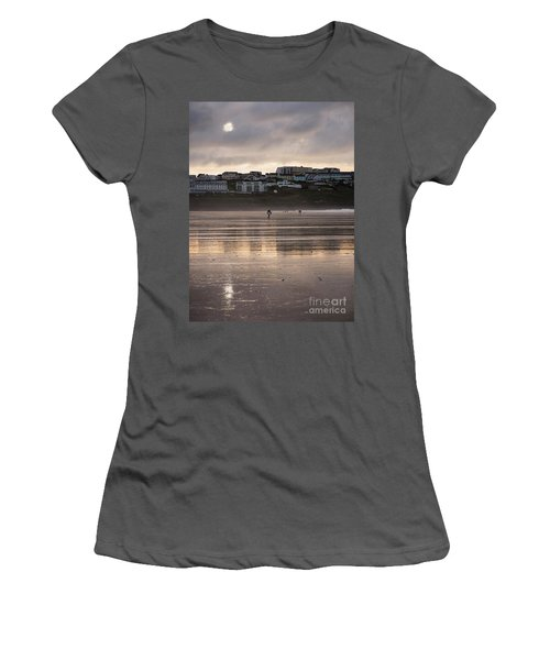 Women's T-Shirt (Junior Cut) featuring the photograph Hole In The Clouds by Nicholas Burningham