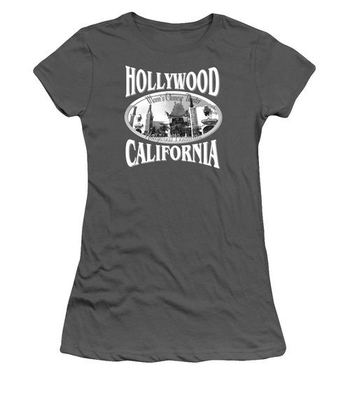 Hollywood California Design Women's T-Shirt (Athletic Fit)