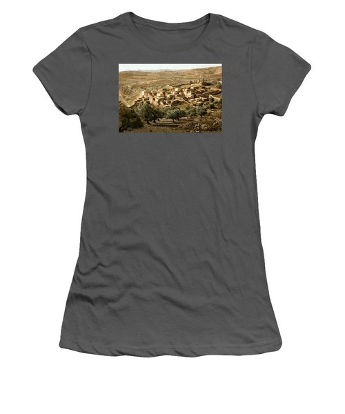 Holy Land - Bethany  Women's T-Shirt (Athletic Fit)