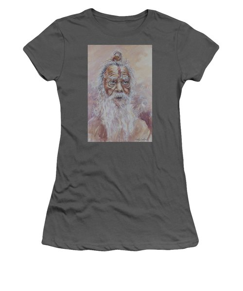 Holy Man Women's T-Shirt (Athletic Fit)
