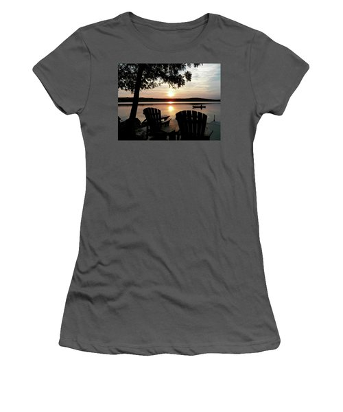 Home From A Paddle Women's T-Shirt (Athletic Fit)