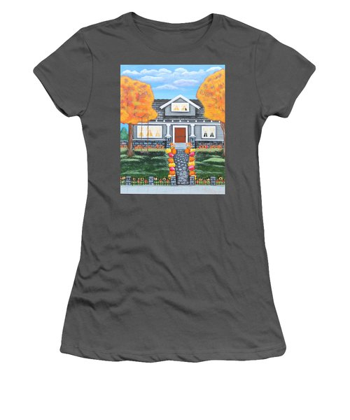 Home Sweet Home - Comes Autumn Women's T-Shirt (Athletic Fit)