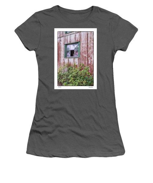 Women's T-Shirt (Junior Cut) featuring the photograph Homestead by R Thomas Berner