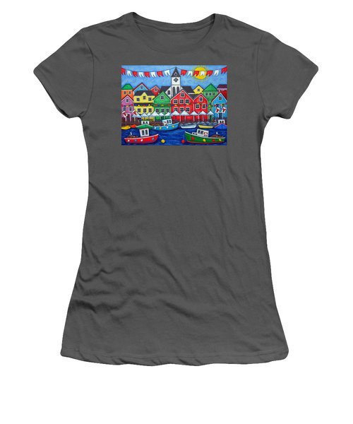 Hometown Festival Women's T-Shirt (Athletic Fit)