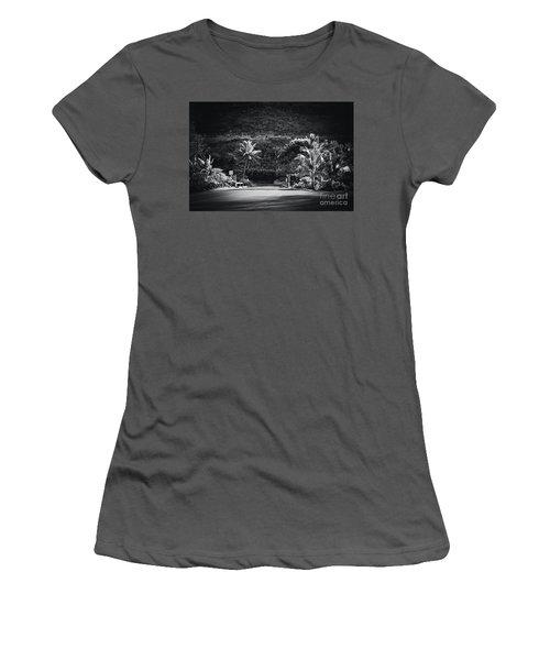 Women's T-Shirt (Junior Cut) featuring the photograph Honokohau Maui Hawaii by Sharon Mau