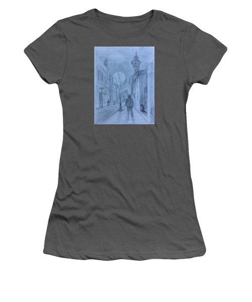 Moon Of Hope Women's T-Shirt (Junior Cut) by Laila Awad Jamaleldin