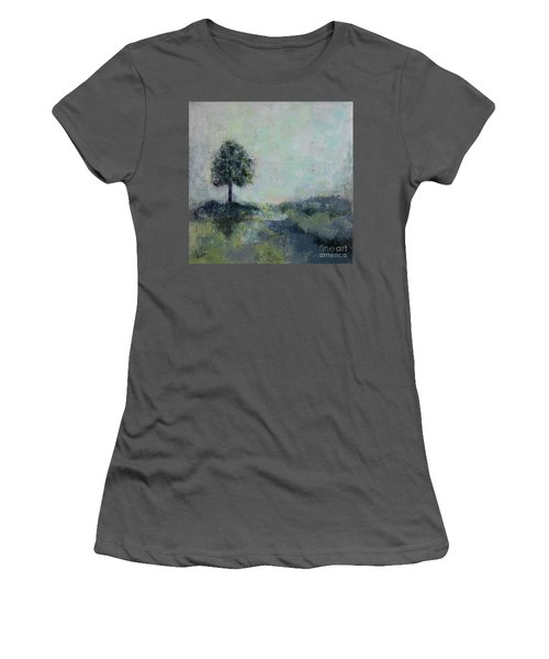 Hope On The Horizo Women's T-Shirt (Athletic Fit)