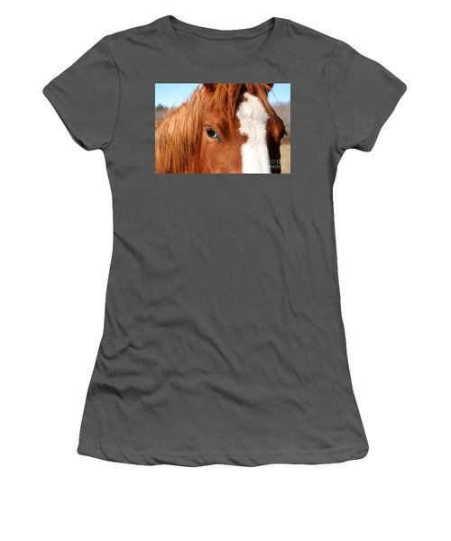 Horse's Mane Women's T-Shirt (Athletic Fit)