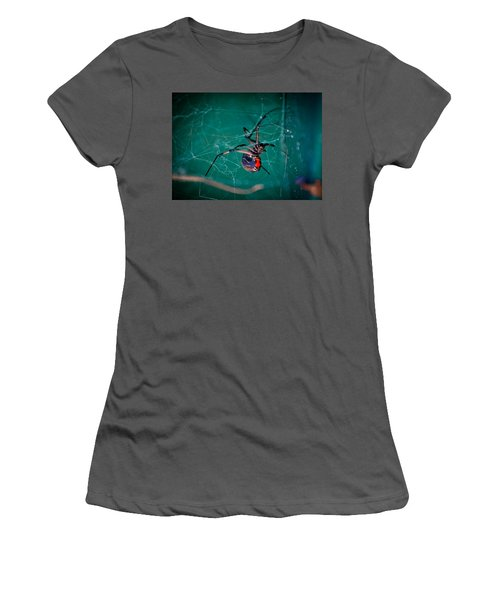 Hour Glass Of Death Women's T-Shirt (Athletic Fit)