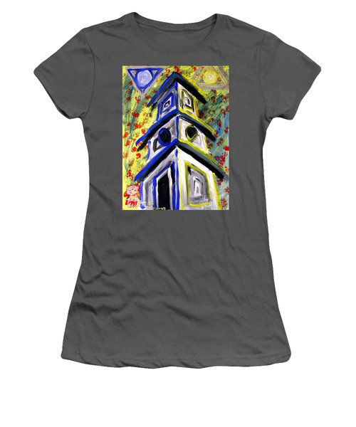 House Women's T-Shirt (Athletic Fit)