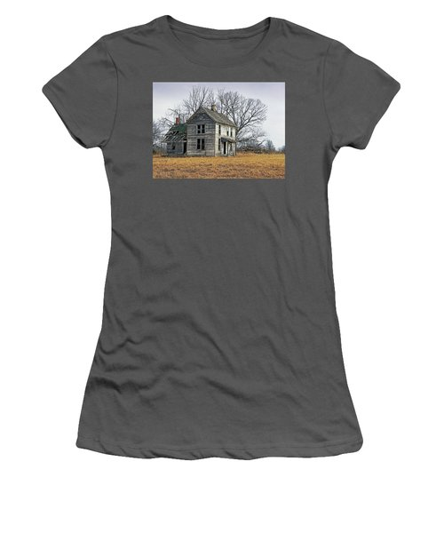 House Of Kansas Past Women's T-Shirt (Athletic Fit)