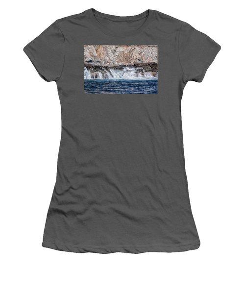 Huatulco Textures Women's T-Shirt (Junior Cut) by Ana Mireles