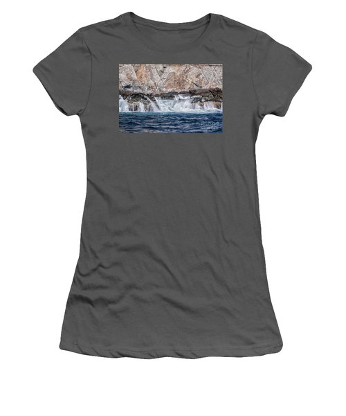 Huatulco's Texture Women's T-Shirt (Athletic Fit)