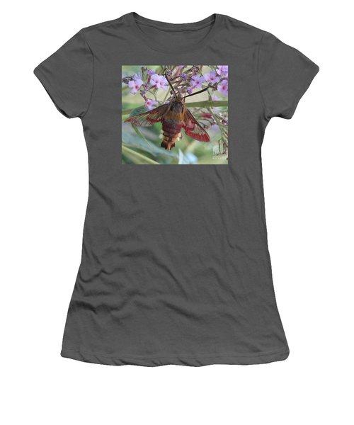 Hummingbird Butterfly Women's T-Shirt (Junior Cut) by Jeepee Aero
