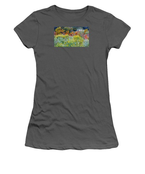 Women's T-Shirt (Junior Cut) featuring the photograph Hundred Hearts by David Norman
