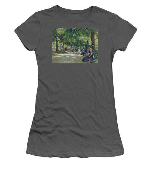 Hyde Park - London  Women's T-Shirt (Junior Cut) by Count Girolamo Pieri Nerli