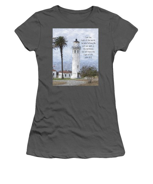 I Am The Light Of The World Women's T-Shirt (Athletic Fit)