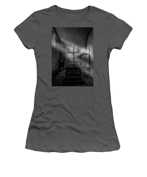 Women's T-Shirt (Athletic Fit) featuring the photograph I Am The Light Of The World by David Morefield