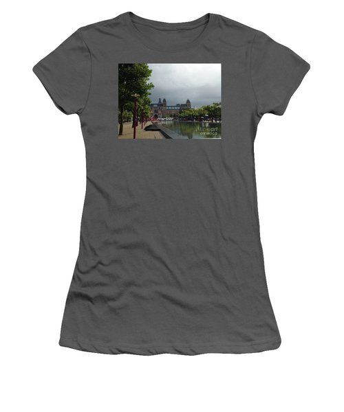 I Amsterdam Women's T-Shirt (Junior Cut) by Therese Alcorn