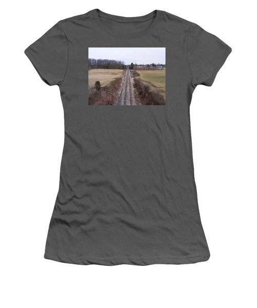 I Hear That Train A Comin' Women's T-Shirt (Athletic Fit)