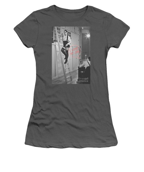 I Love My Job #2 Women's T-Shirt (Athletic Fit)