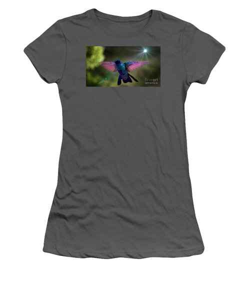 Women's T-Shirt (Junior Cut) featuring the photograph I Love Tom Thumb by Al Bourassa
