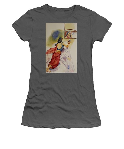 I Miss You Women's T-Shirt (Junior Cut) by Geeta Biswas