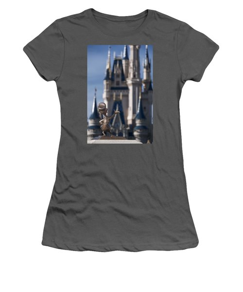 I Present You Cinderella's Castle Women's T-Shirt (Athletic Fit)