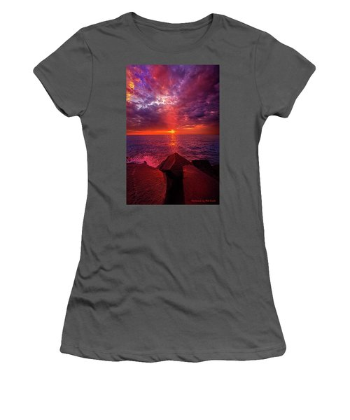 Women's T-Shirt (Junior Cut) featuring the photograph I Still Believe In What Could Be by Phil Koch