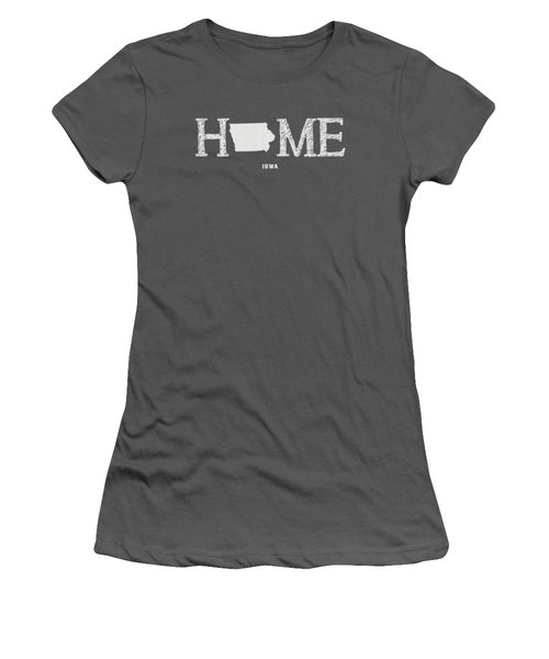 Ia Home Women's T-Shirt (Junior Cut) by Nancy Ingersoll