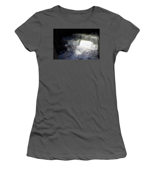 Ice Blocks In House Women's T-Shirt (Athletic Fit)