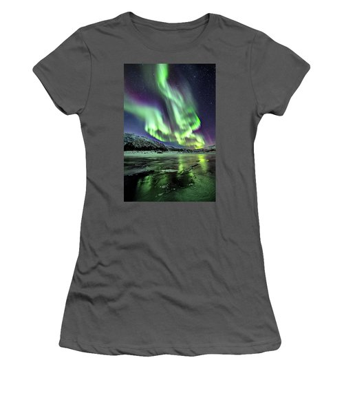 Ice Reflection I Women's T-Shirt (Athletic Fit)