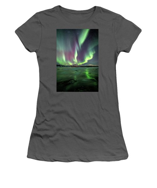 Ice Reflection II Women's T-Shirt (Athletic Fit)