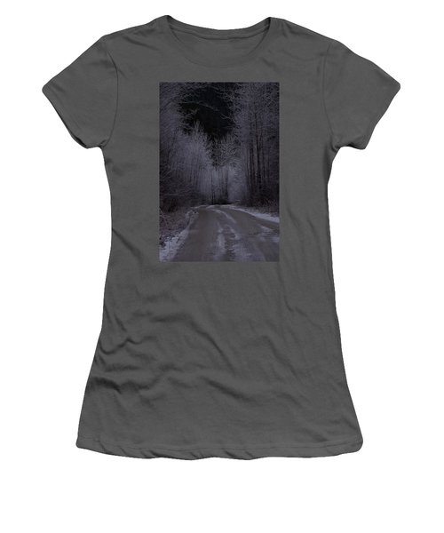 Ice Road Women's T-Shirt (Athletic Fit)