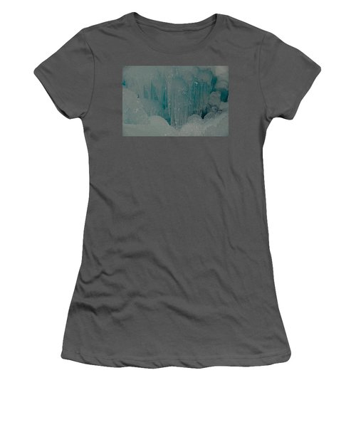 Icicle Blue Beauty Women's T-Shirt (Athletic Fit)