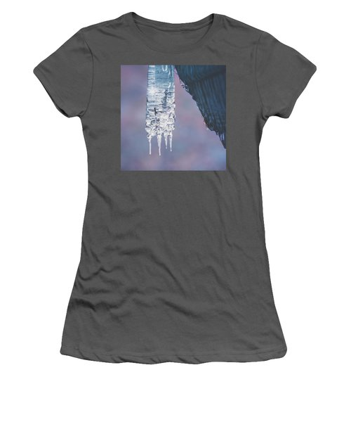 Women's T-Shirt (Junior Cut) featuring the photograph Icy Beauty by Ari Salmela
