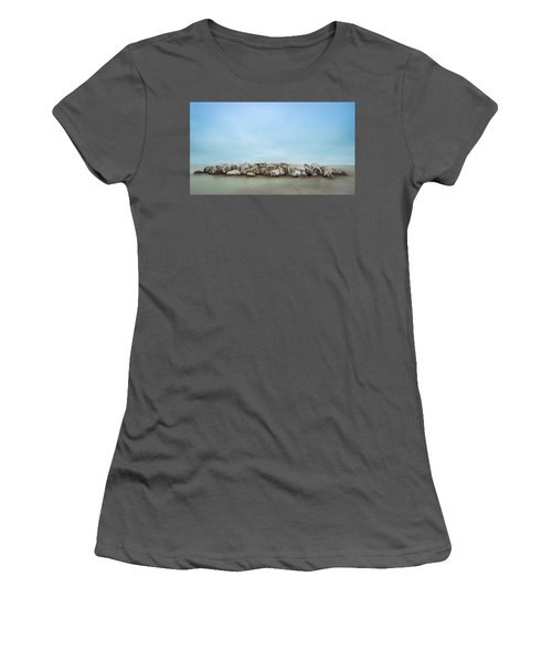 Icy Morning Women's T-Shirt (Athletic Fit)