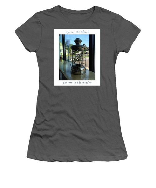 Image Included In Queen The Novel - Lantern In Window 19of74 Enhanced Poster Women's T-Shirt (Athletic Fit)