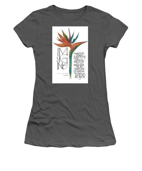 Imagine Women's T-Shirt (Athletic Fit)
