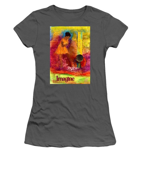 Imagine Winning Women's T-Shirt (Athletic Fit)