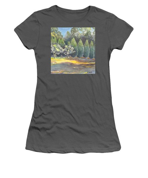 In Between Women's T-Shirt (Athletic Fit)