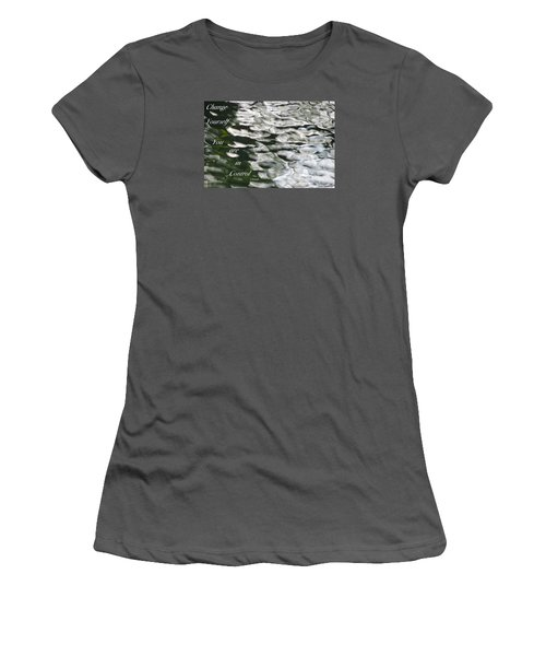 Women's T-Shirt (Junior Cut) featuring the photograph In Control by David Norman