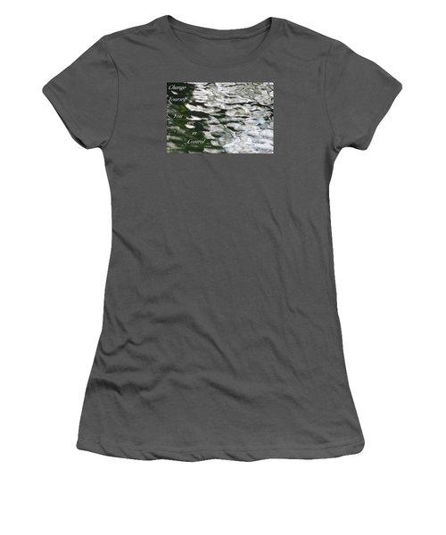 In Control Women's T-Shirt (Junior Cut) by David Norman