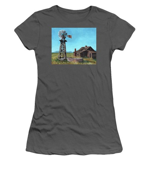 In Days Past Women's T-Shirt (Athletic Fit)
