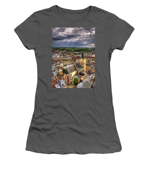 In The Heart Of The City Women's T-Shirt (Athletic Fit)