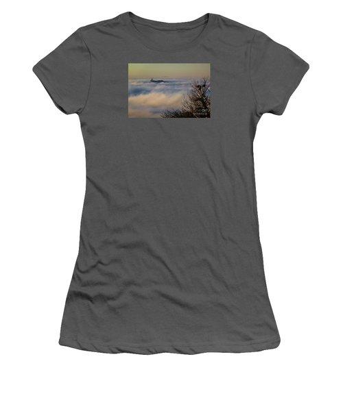 In The Mist 1 Women's T-Shirt (Junior Cut) by Jean Bernard Roussilhe